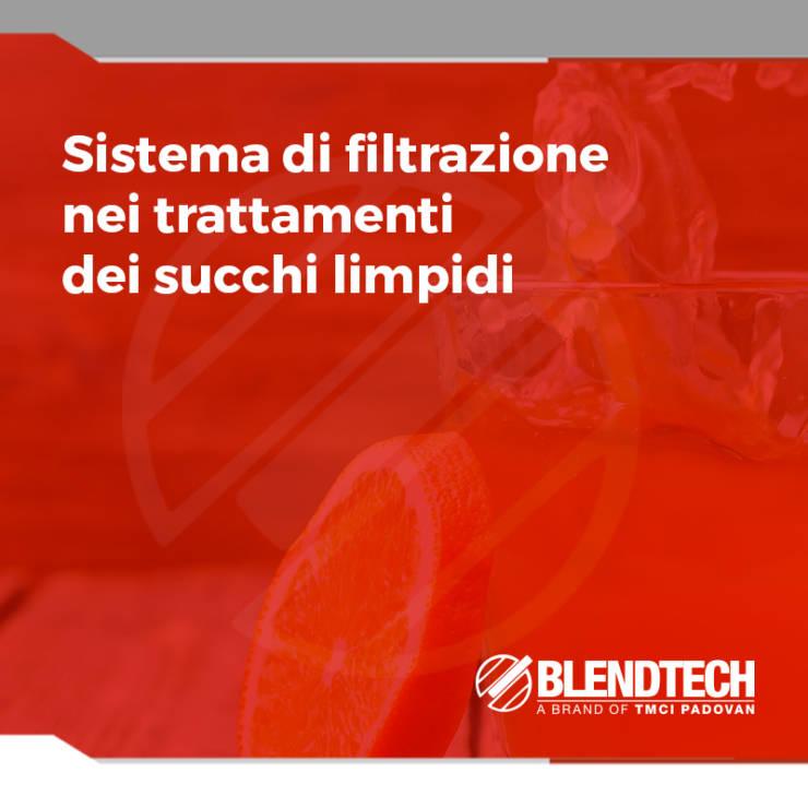 Sistemi di filtrazione nei trattamenti dei succhi limpidi